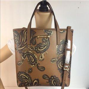 Michael Kors north south emery top zip tote bag